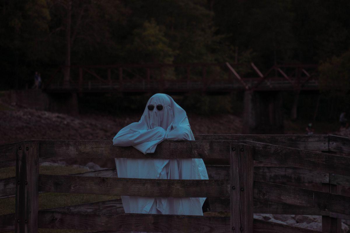 「幽霊を見た」に関連する英語フレーズ